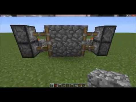 come fare una porta su minecraft come fare una porta scorrevole su minecraft
