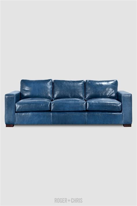 blue leather sectional sofa best 25 modern leather sofa ideas on pinterest