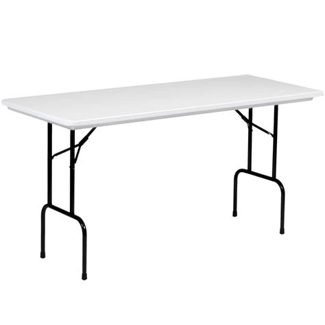 Folding Bar Height Table Correll 36 Quot Bar Height Folding Table 30 Quot X 72 Quot Molded Plastic Granite Gray Rs3072