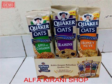 jual quaker oatmeal cookies impor  diet sehat bukan