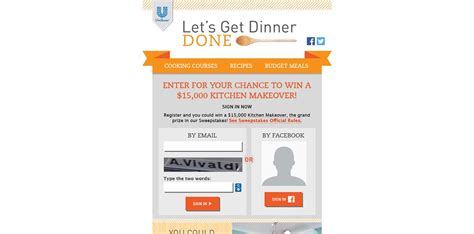 Easy Instant Win Sweepstakes - let s get dinner done instant win game and sweepstakes