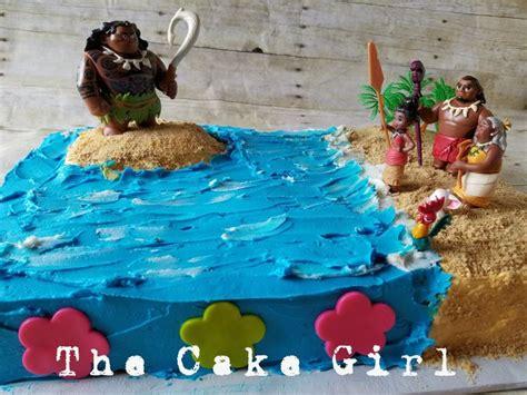 Moana Sheet Cake Characterokies  Ee  Birthday Ee   Sheet
