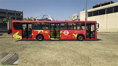 mod gta 5 bus london metro bus gta5 mods com