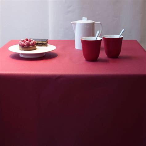 tischdecke rot tischdecke abwaschbar einfarbige rot