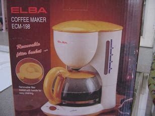 Coffee Maker Elba the last sale
