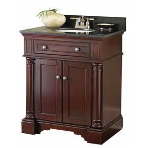 Bathroom Vanities At Lowes by Shop Allen Roth Albain Auburn Undermount Single Sink