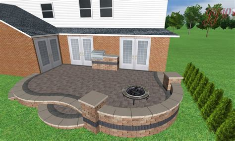 brick paver patio ideas landscaping gardening ideas