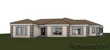 Ordinary House Plans With Front Porch One Story #10: T351-3D-V1.jpg