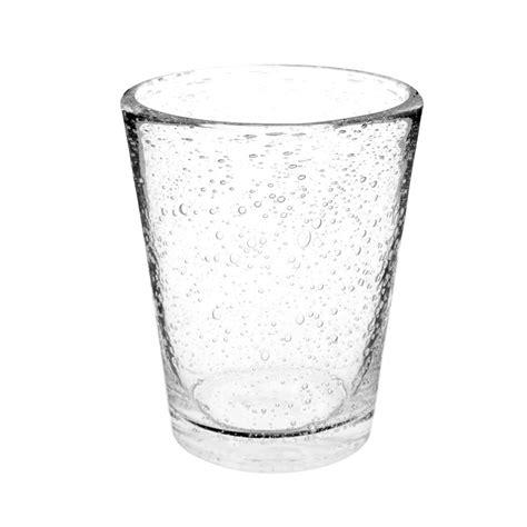 maison du monde bicchieri bicchiere trasparente a bolle in vetro maisons du monde