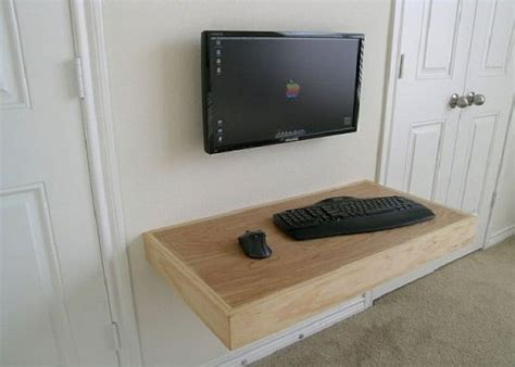 Build Cheap Computer Desk 23 Diy Computer Desk Ideas That Make More Spirit Work Diy Computer Desk Desks And Wall