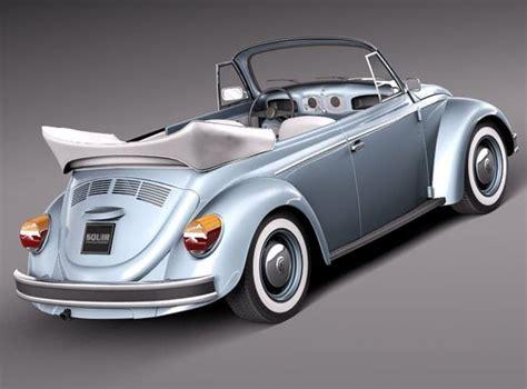 1980 volkswagen beetle childs car olkswagen beetle 1980 convertible 3d model max obj 3ds