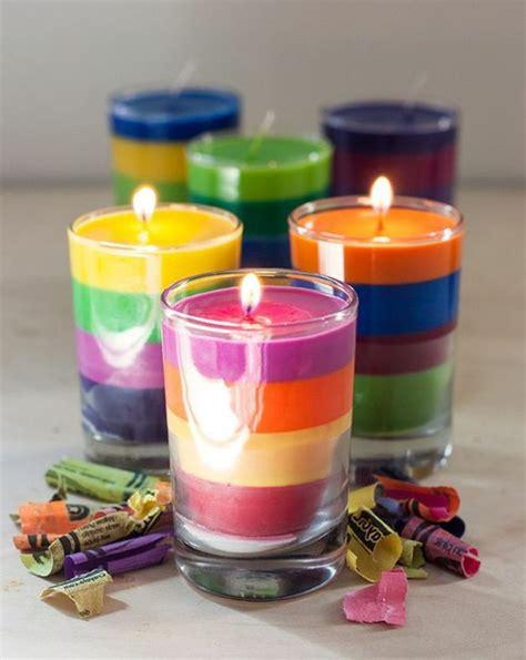 candele colorate creare candele colorate