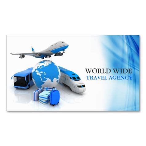 travel agency business card design template alphaget travel cargo services llc habeshalink