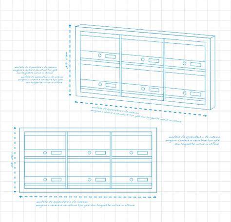 cassette postali in legno modello andromeda eurocasellari