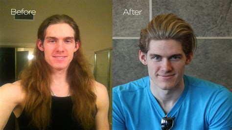 mens makeover videos before after chris hemsworth haircut mens summer