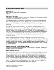 example database plan