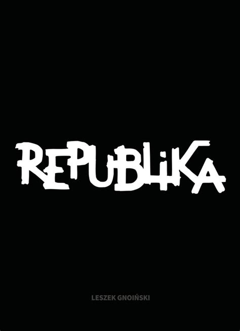 republika leszek gnoinski ksiazka kulturalnyskleppl