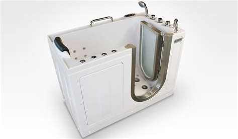 Portable Walk In Bathtub by Deluxe Portable Hydrotherapy Tub Heavenly Walk In Tubs