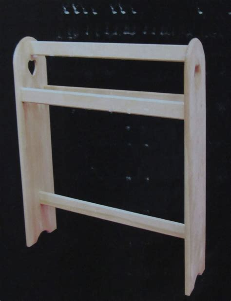 Pine Quilt Rack by Woodline Works Quilt Rack Unfinished Solid Pine Wood R T A