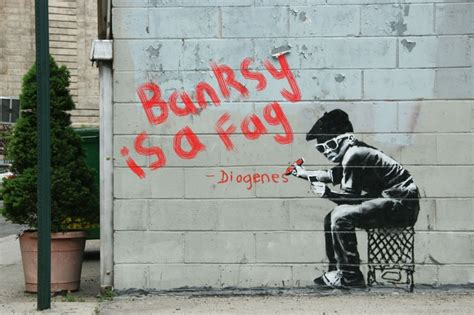 quotes graffiti banksy quotesgram