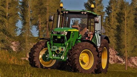 Deer Ls by Deere 6115m V1 2 Fs17 Farming Simulator 17 Mod Fs