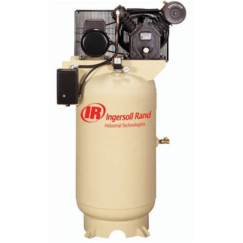 ingersoll rand 2475n5 air compressor 5hp 80 gal vertical tank compressor