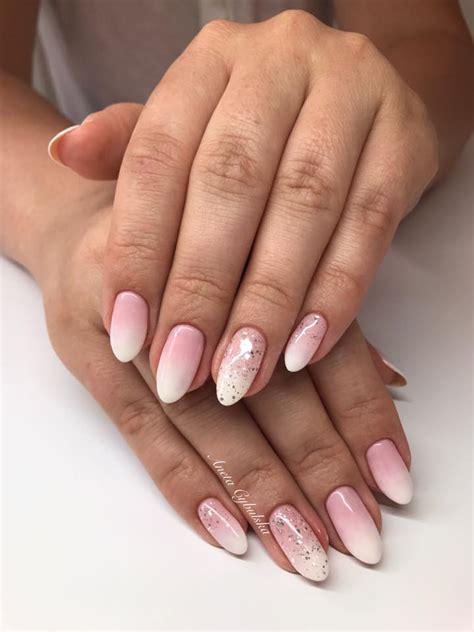 pudrowe paznokcie  modnych inspiracji na delikatny manicure