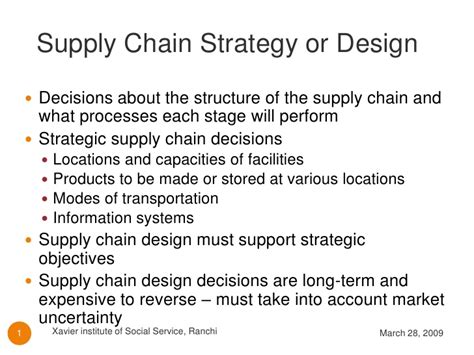 Layout Strategy Supply Chain | supply chain strategy or design