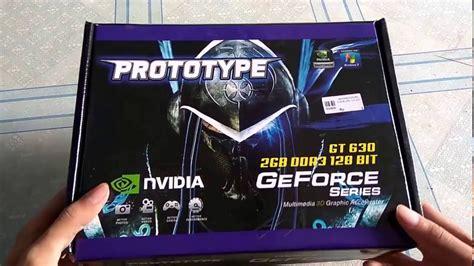 Vga Prototype Gt 630 unboxng vga prototype gt 630 2gb ddr3 128bit