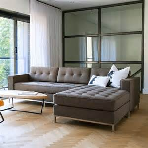 apartment sofas modern sectionals to fit every living room zin home