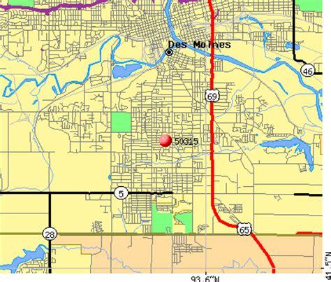 zip code map des moines 50315 zip code des moines iowa profile homes