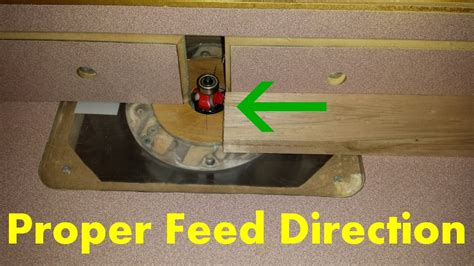 how do i use a router table proper use of a router table part 1 mader made it