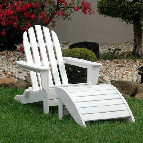 adirondack chair and ottoman classic adirondack chair and ottoman