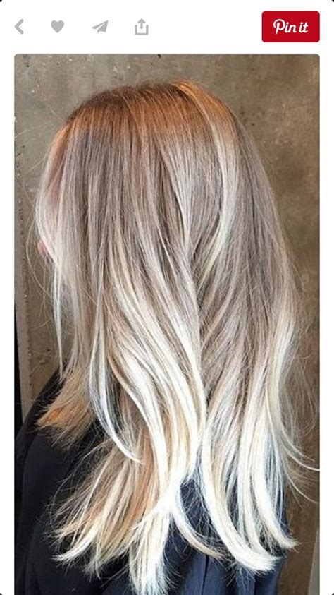 hairstyles platinum highlights 81 best balayage images on pinterest hairstyle ideas