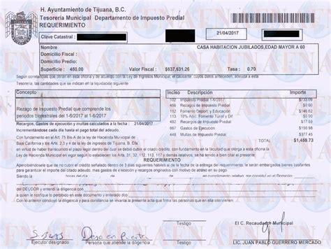 imprimir recibo pago predial zapopan recibo predial zapopan recibo de predial 2016