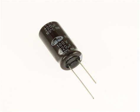 samwha aluminum electrolytic capacitor er221m100v12x25105 samwha capacitor 220uf 100v aluminum electrolytic radial high temp 2020070421