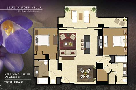 beach club villas floor plan floorplans beach villas vacation rentals ko olina