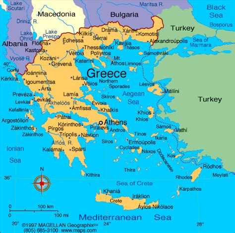map of archaic greece map of ancient greece for children