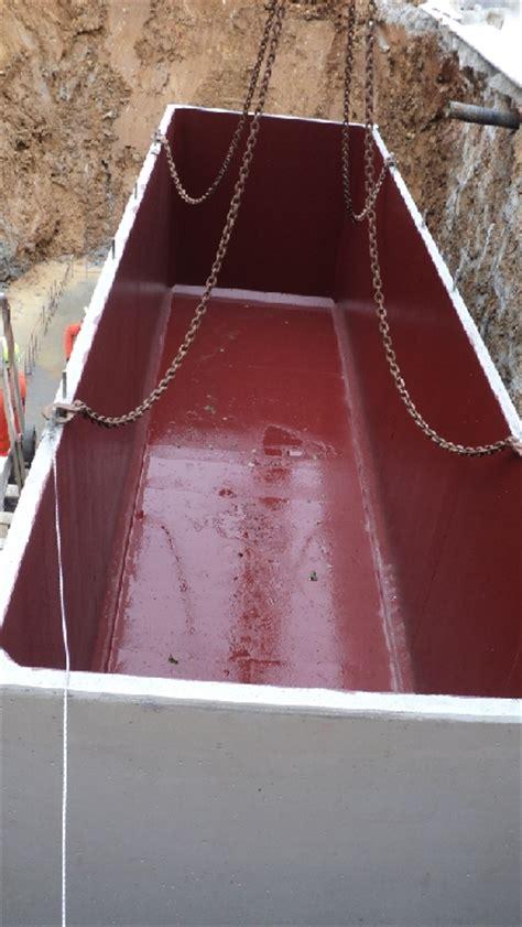 vasca accumulo acqua piovana carra depurazioni srl foto impianti prefabbricati a