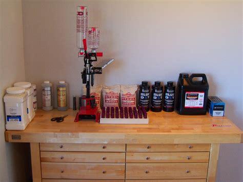 set up bench shotgunworld com new reloading bench set up