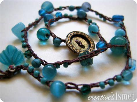beaded crocheted bracelet tutorial lord of