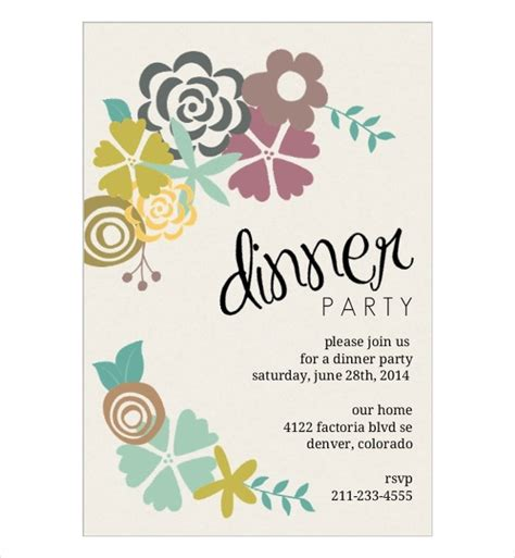 dinner invitation card template invitation cards in psd 83 free psd vector ai eps