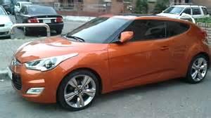 Hyundai Veloster Turbo Orange Hyundai Veloster Orange