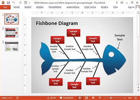 free fishbone diagram template word free printable family