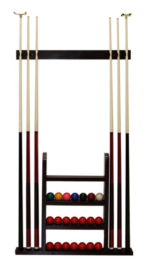 Pool Cue Racks Wall Mount pool cue rack rack wooden wall mounted new ebay