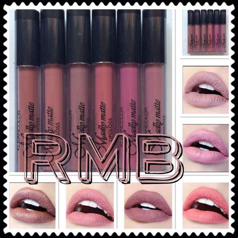 Kleancolor Pro Artistry Madly Matte Palette kleancolor set of 6 matte liquid lipstick from rmb shop