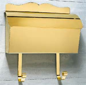 Polished Brass Wall Mount Mailbox Wall Mounted Mailboxes