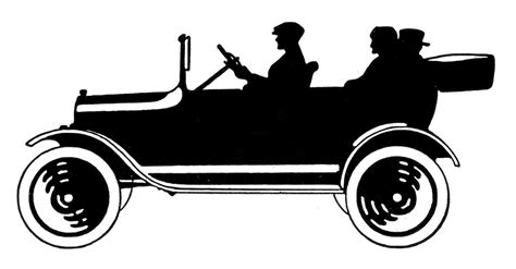 classic cars clip art antique car silhouette pictures to pin on pinterest