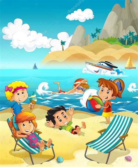 imagenes de niños jugando en la playa los ni 241 os jugando en la playa buceo edificio en arena