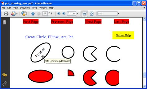 how to draw pdf how to draw rectangle circle and basic shape on pdf page